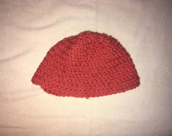 0-6 Months Pink Baby Hat