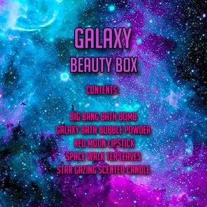 Galaxy Bath Bomb Beauty Box Set