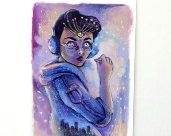 Anyone's Ghost - Limited Edition ACEO Giclée Fine Art Print
