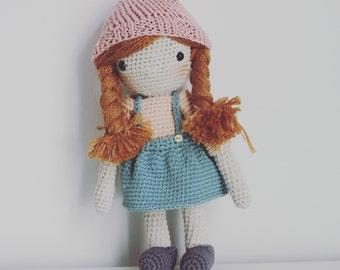Crochet Doll - Morning Glory
