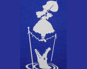 HTV Iron-On - Haunted Mansion Tightrope Walker