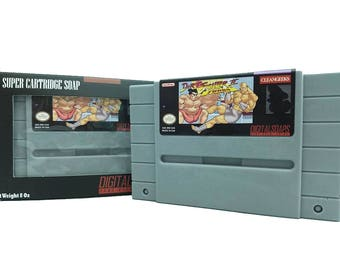 Street Fighter Soap Parody, SNES, 16 bit retro game, Super Nintendo, Nintendo gifts, 16 bit, Classic Nintendo, SNES cartridge, SNES Classic