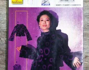 Pouch pattern Burda 8778 - Lady T-shirt