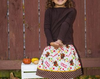 I'm Stuffed Skirt (18 mos  2T, 3T, 4T, 5, 6, 7, 8)