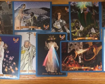 Heroes of  Virtue Catholic Prayer Cards