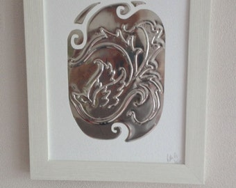 Swirling, Pewter Picture
