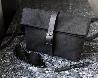 Black Small Crossbody Bag - Small Black Crossbody Bag for Women - Small Crossbody Purse for Women - Small Purse Satchel Handbag Cross Body