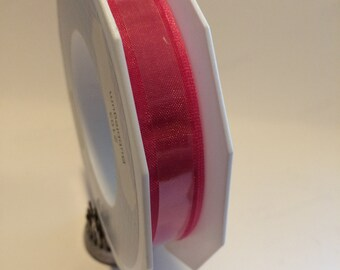 CTMH Bubblegum Sheer Organza Ribbon