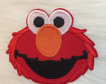 One Elmo Monster Patch