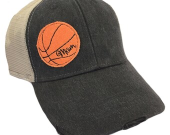 Basketball Mom Adult Hat by Chic Baby Rose - More Colors and Styles