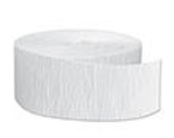 Crepe Paper Streamer - 500 foot roll