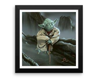 Yoda Print • Framed