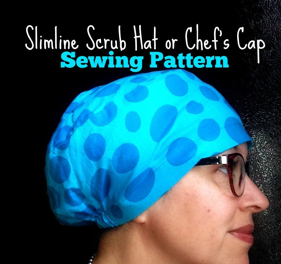 Nice Scrub Cap Sewing Pattern Free Gift - Blanket Knitting Pattern ...