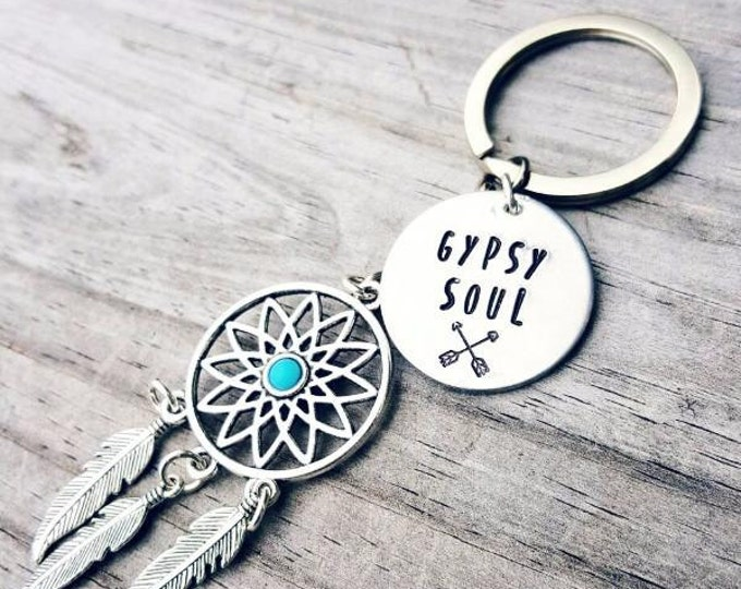 Gypsy Soul Key Chain- Dream-catcher Key chain
