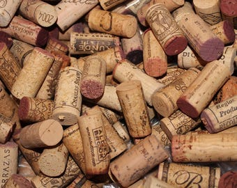 Wine Corks: Used Natural Cork Red and White, bulk wine cork, Wine Cork for Crafts
