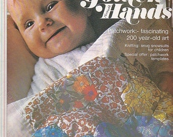 ON SALE Golden Hands Encyclopaedia of Knitting Dressmaking and Needlecraft Guide Part 17 1970s