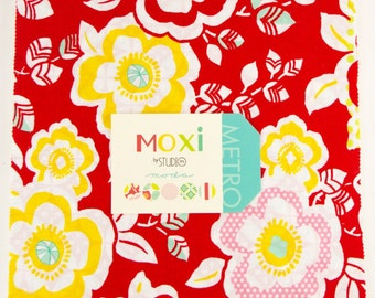 Moxi layer cake by Studio M for Moda fabric