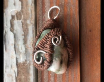 Seasong Wrapped Pendant