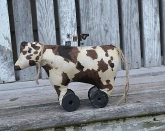 Farmyard Cow Pincushion