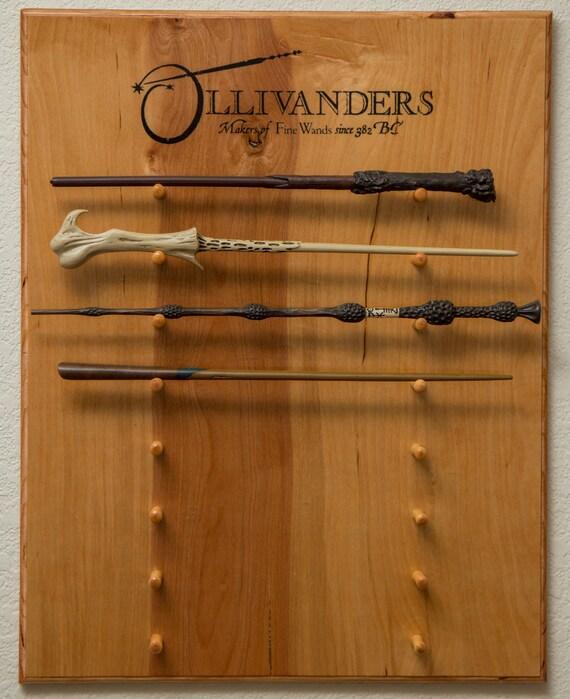 Ollivanders Wand Display Holder Harry Potter Custom