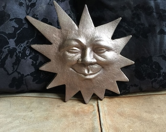 Smiling Sun Plaque