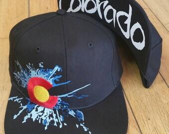 Colorado Splat Snap back w/Colorado Bill