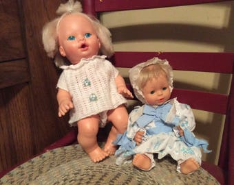 Pair of 2 Vintage Doll Babies