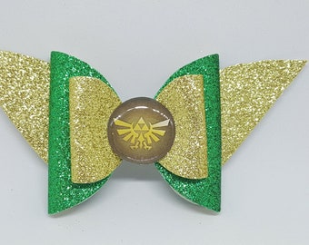 Legend of Zelda Inspired Bow // Triforce Bow // Zelda Bow