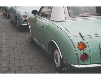 Vintage Car Photography Germany Photography Mint Green Figaro Car Photography Print Travel Photography Mint Decor Fathers Day Gift For Him