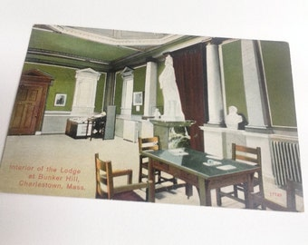 Interior of Lodge at Bunker Hill
