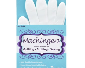 Machingers Quilting Crafting Sewing Glove Small / Medium 0209GS