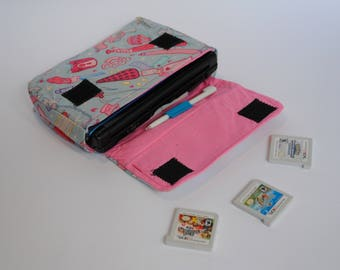 Just Girly Thingz 3DS / 3DS xL / New 3DS Carrying Case MADE TO ORDER