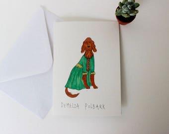Demelza Polbark card