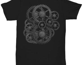 Dark Gears Steampunk T-Shirt