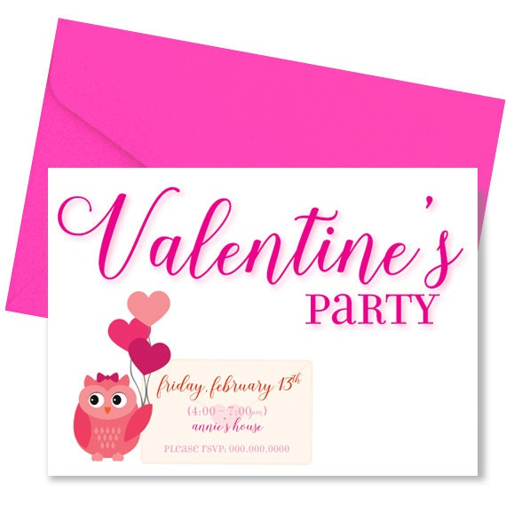 ValentineS Day Invites ValentineS Day Party