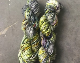 Stitch Sisters Bulky Weight Hand Dyed Yarn