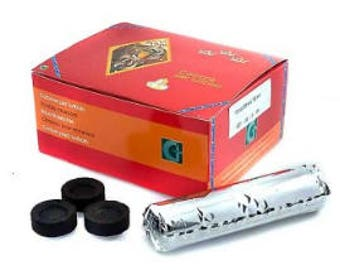 Charcoal roll of 10 tablets (PROFESSIONAL)