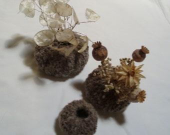 Knitted 'Sea Urchins'