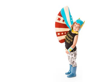Superhero Costume, Blue Super Hero Cape, Gift for Toddler, Birthday Gift for Boy, Thor Costume, Captain America, The Avengers, Costume Play