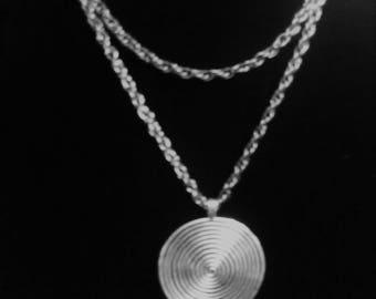 """Necklace/Chain 28"""" long 4"""" Pendant"""