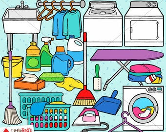 Laundry Room Clip Art - personal use/limited commercial use