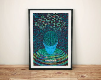 Unravelling brains - A2 poster