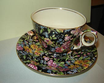 Royal Winton chintz Nantwich pattern  tea cup and saucer