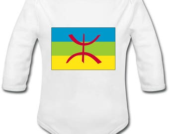 Flag Kabylia - possibility of custom name onesie