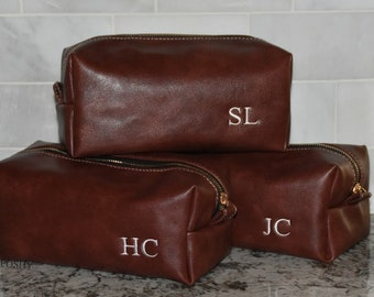 Gift for him/ Toiletry bag/ Personalized/ Dopp Kit Bag/ Gift for him
