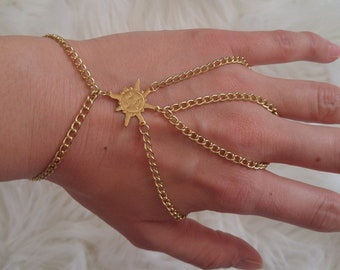 RAY OF SUNSHINE double hand chain