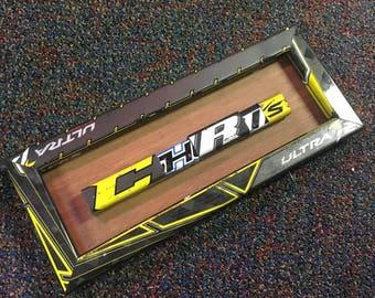 Custom Name Plates From Broken Hockey Sticks