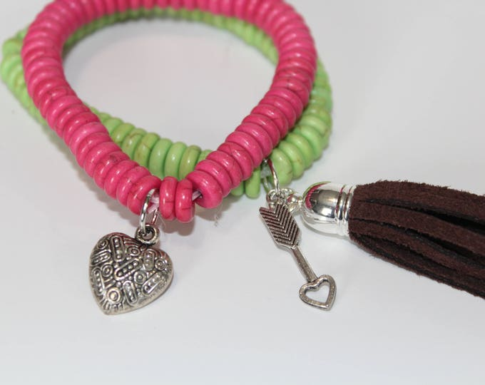 Stretch Bracelets perfect for Valentines