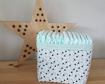Basket, basket, organizer in layers or storage triangles multi