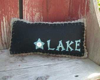 Down by the Lake Pillow